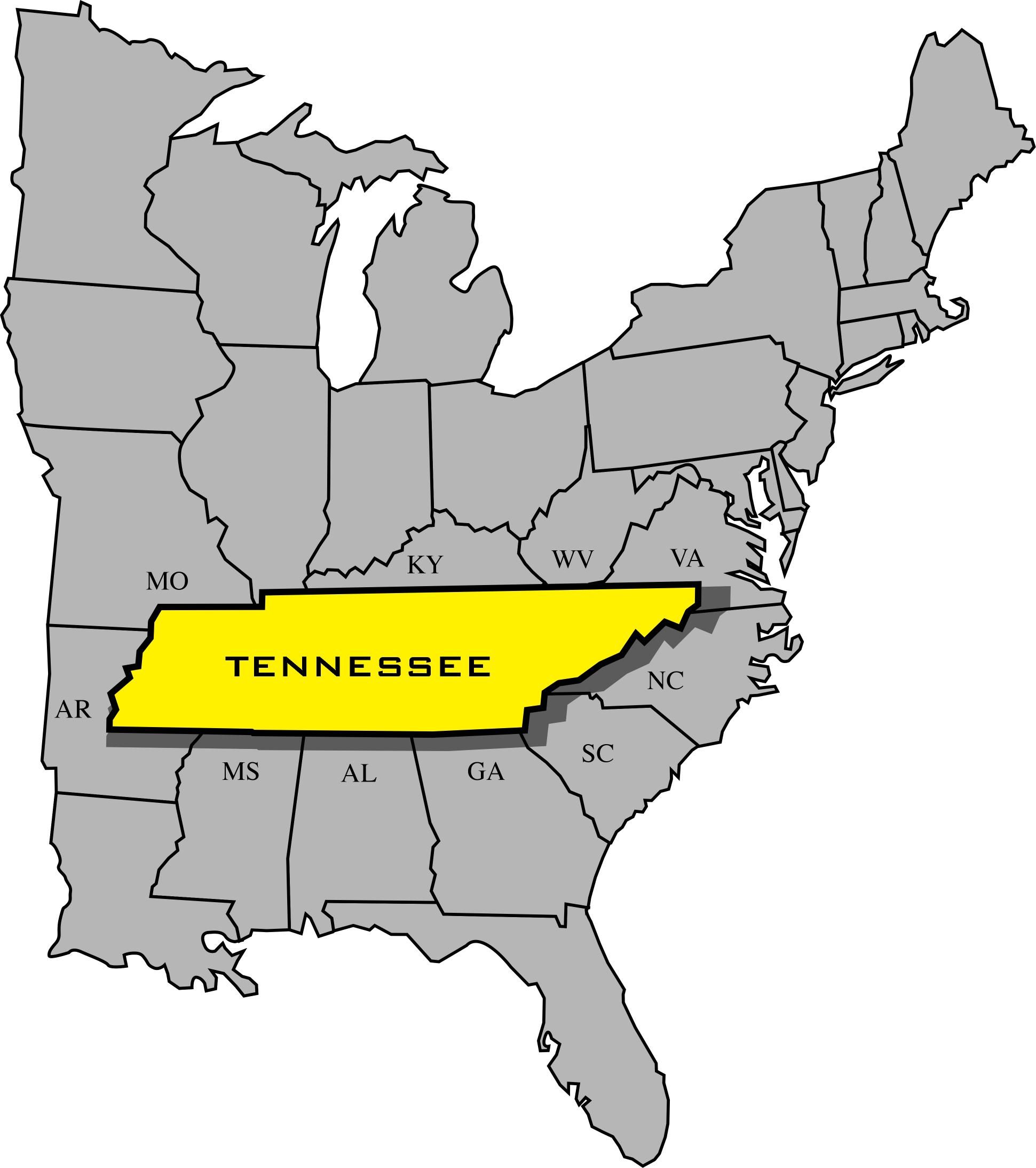 Maps  TN Entertainment Commission  Tennessee